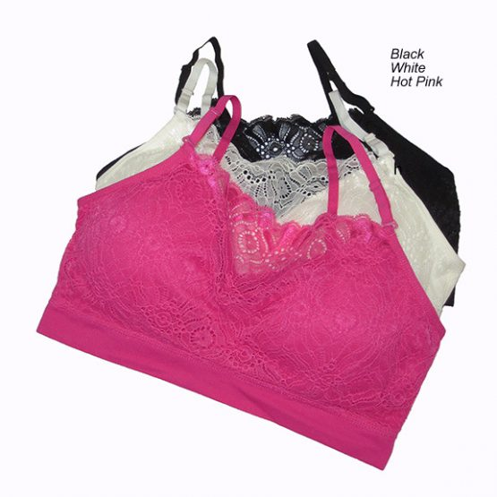 Coobie Lace Coverage Bra-3225