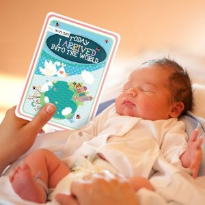 Landmark Moments Baby Cards - 38 Illustrated cards - Perfect for Baby Shower and Newborn Gift -0