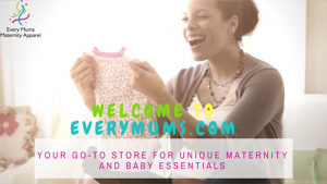 EveryMums Website for Maternity items for mums and babies from age 0 to 12 months