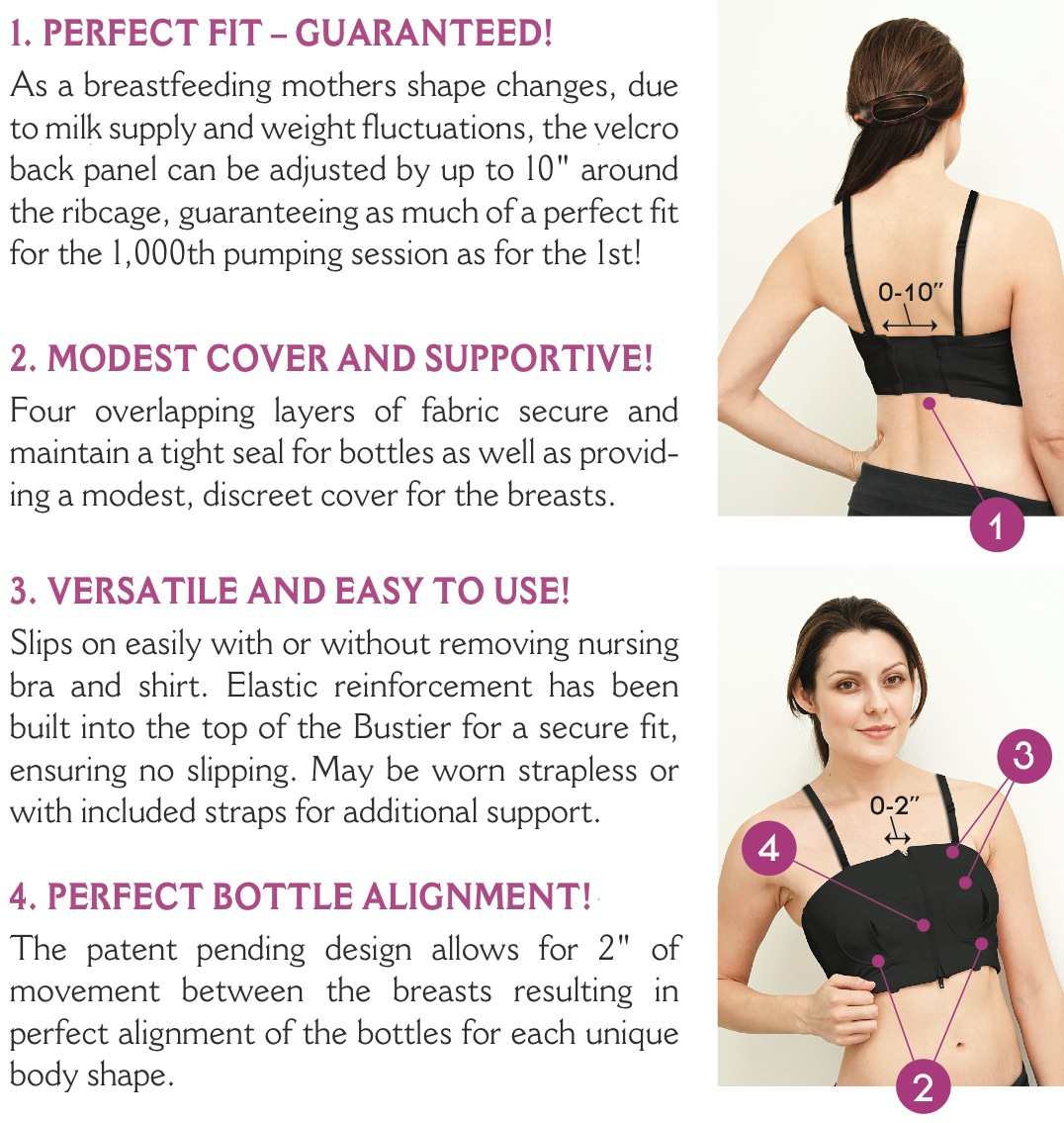 560a6933df8df Simple Wishes Signature Hands Free Pumping Bra – Every Mums